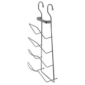 Полка для крышек Delinia 21x11.5x43 см, хром