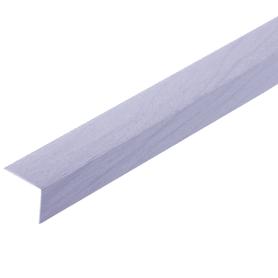 Угол 30x30x2700 мм, ПВХ, цвет сиреневый