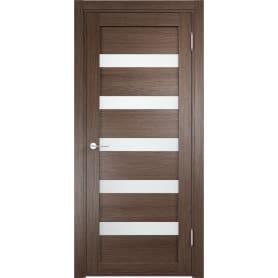 Дверь межкомнатная остеклённая Ницца 80x200 см, ПВХ, цвет дуб неаполь, с фурнитурой