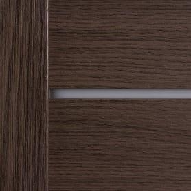 Дверь межкомнатная глухая Ницца 80x200 см, ПВХ, цвет дуб неаполь, с фурнитурой