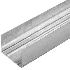 Профиль направляющий (ПН-2) Премиум 50х40x3000 мм, 0.6 мм