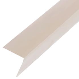 Угол 20x20x2700 мм, ПВХ, цвет слоновая кость