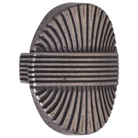 Ручка-кнопка Jet 194 ЦАМ цвет античное серебро