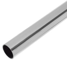 Труба d25х0.8x3000 мм цвет хром