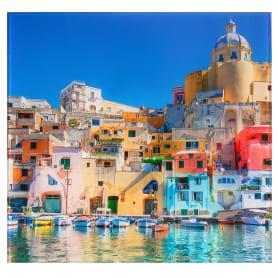 Картина на стекле 30х30 см «Италия Неаполь»