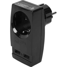 Разветвитель SP-1e USB цвет чёрный