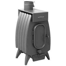 Печь отопительная «Огонь-Батарея 5 лайт», цвет антрацит