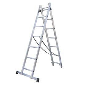 Лестница раскладная двухсекционная Standers 7 ступеней