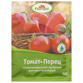 Удобрение Florizel для томатов и перцев ОМУ 0.05 кг