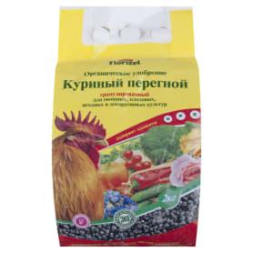 Удобрение Florizel Куриный перегной гранулированное ОУ 2 кг