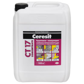 Грунт концентрат Ceresit CT17, 10 л