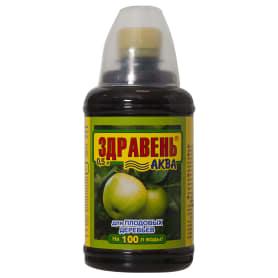 Удобрение «Здравень Аква» для плодовых деревьев 0.5 л с мерным стаканчиком