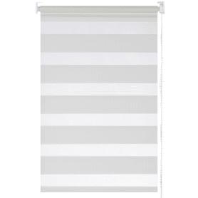 Штора рулонная день-ночь Inspire 60х160 см цвет белый