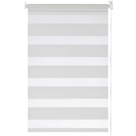 Штора рулонная день-ночь Inspire 40х160 см цвет белый