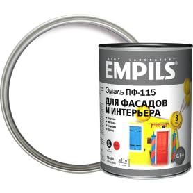 Эмаль ПФ-115 Empils PL цвет белый 0.9 кг