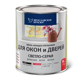 Эмаль для окон и дверей цвет светло-серый 0.9 кг