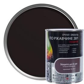 Грунт эмаль по ржавчине 3 в 1 гладкая Dali Special цвет коричневый 0.8 кг