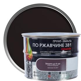 Грунт эмаль по ржавчине 3 в 1 гладкая Dali Special цвет коричневый 2.5 кг