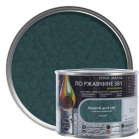 Грунт эмаль по ржавчине 3 в 1 молотковая Dali Special цвет зеленый 0.4 кг