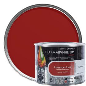 Грунт эмаль по ржавчине 3 в 1 гладкая Dali Special цвет красный 0.4 кг