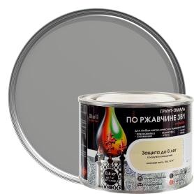 Грунт эмаль по ржавчине 3 в 1 гладкая Dali Special цвет серебристый 0.4 кг