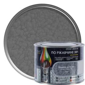 Грунт эмаль по ржавчине 3 в 1 молотковая Dali Special цвет серый 0.4 кг