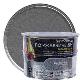 Грунт эмаль по ржавчине 3 в 1 молотковая Dali Special  цвет серый 2.5 кг