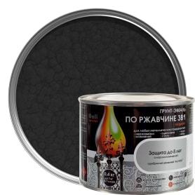 Грунт эмаль по ржавчине 3 в 1 молотковая Dali Special цвет черный 0.4 кг