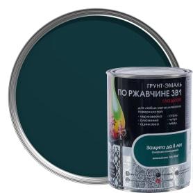 Грунт эмаль по ржавчине 3 в 1 гладкая Dali Special цвет зеленый мох 0.8 кг