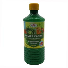Удобрение Гумат калия для овощей «Долина плодородия» 0.5 л