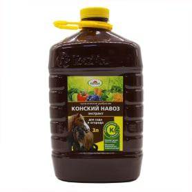 Удобрение Экстракт конского навоза «Долина плодородия» 3л