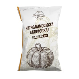 Удобрение Азофоска (нитроаммофоска) 1 кг