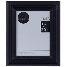 Рамка Inspire Liza 15x20 см цвет чёрный