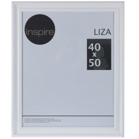 Рамка Inspire Liza 40x50 см цвет белый