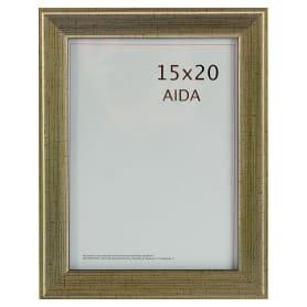 Рамка Aida 15x20 см цвет серебро с патиной