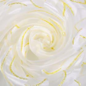 Тюль «Вензель» 1 п/м 280 см цвет молочно-золотой