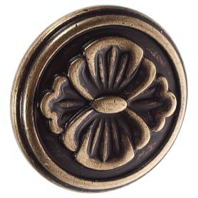 Ручка-кнопка FB-025 000 цвет бронза полированная