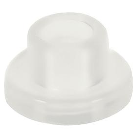 Втулка L-5.5 для стекла 4-5 мм, пластик, цвет прозрачный, 8 шт.