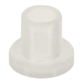 Втулка L-8 для стекла 6-8 мм, пластик, цвет прозрачный, 8 шт.