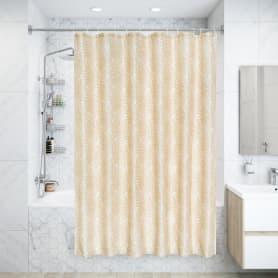 Штора для ванной комнаты «Petal» 180х180 см цвет бежевый
