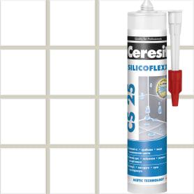 Затирка силиконовая Ceresit CS 25, цвет жасмин