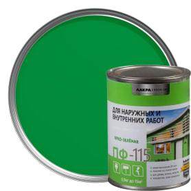 Эмаль ПФ-115 Лакра DIY цвет ярко-зелёный 0.9 кг