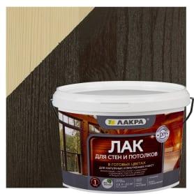 Лак тонированный для стен и потолка Лакра цвет палисандр 2.5 л