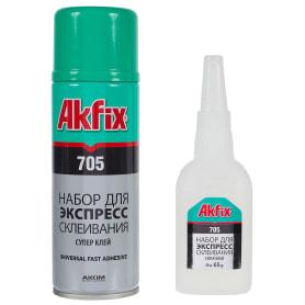 Суперклей Akfix 705, 200 мл