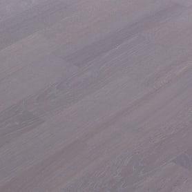Паркетная доска трёхполосная «Дуб Флинт» 1.58 м²