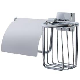Держатель для туалетной бумаги и освежителя воздуха Sensea «Kvadro» цвет хром