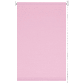 Штора рулонная 70х155 см цвет розовый