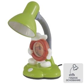 Настольная лампа с часами Camel KD-388 «Баскетбол», цвет зелёный