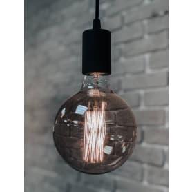 Лампа накаливания Elektrostandard «Эдисон G95» E27 230 В 60 Вт шар прозрачный с золотистым напылением, тёплый белый свет