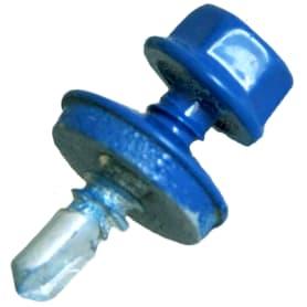 Саморез кровельный Hardwex 4.8x19 мм цвет синий 70 шт.